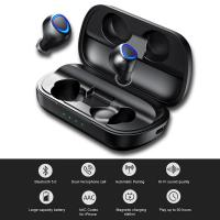 IP010 PLUS Bluetooth 5.0 Headset Wireless Charging with Mobile Power fone de ouvido Sports Binaural Ear Phone TWS