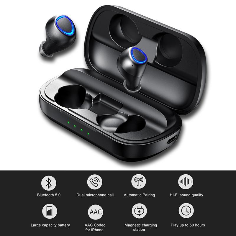 IP010 PLUS Bluetooth 5.0 casque sans fil de charge avec puissance Mobile fone de ouvido Sports Binaural oreille téléphone TWS