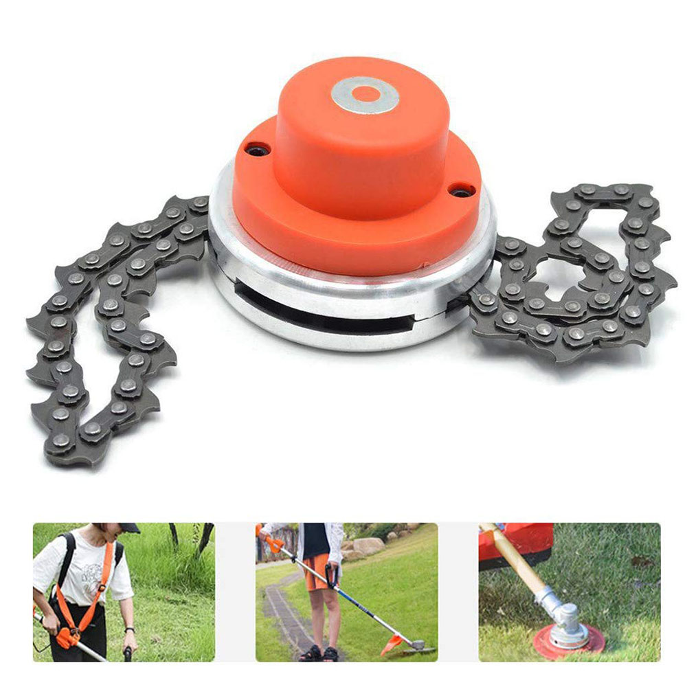 Garden Power Tools Chain Trimmer Head Grass Trimmer Head For Garden Brushcutter Lawn Mower Replacement Parts
