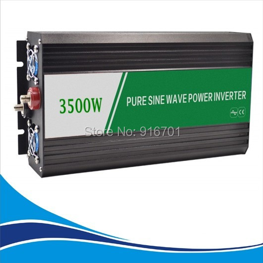 <font><b>Power</b></font> <font><b>Inverter</b></font> 3500W DC <font><b>12V</b></font> to AC 220V <font><b>Pure</b></font> <font><b>Sine</b></font> <font><b>Wave</b></font> Peak <font><b>Power</b></font> <font><b>7000W</b></font> <font><b>Power</b></font> <font><b>Inverter</b></font> image
