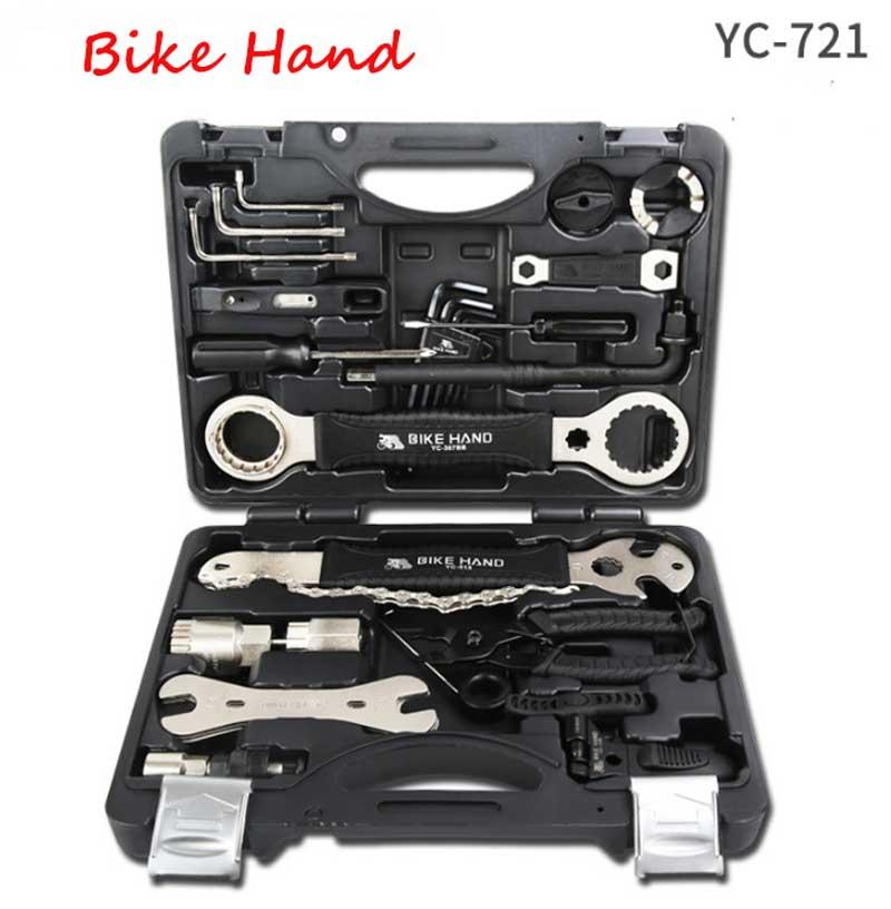 Outil de réparation de vélo multifonctionnel main de vélo 18 en 1 Kits boîte à outils de vélo professionnel livraison gratuite