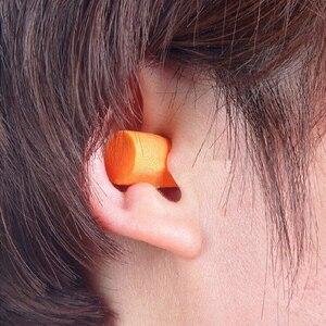 Image 3 - 3M 1100 Foam Ear Plug Uncorded Earplugs 29 dB Noise Reduction Rating 200 Pairs Individual Packaging