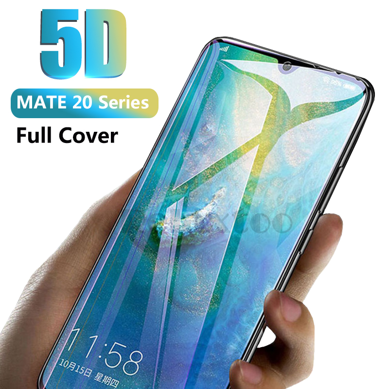 case for huawei mate 20 lite screen protector 5d Curved full cover tempered glass for huawei mate 20 lite x protective glas Film