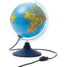 Глобус Земли Globen физико-политический с подсветкой 210мм