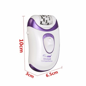 Image 3 - Callus Remover Epilator Rechargeable 4 in 1 Electric Tweezer Hair Removal Shaver Electric Lady Rechargeable Quick EU Plug Light