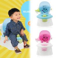 Portable Cute Baby Potty Multifunction Toilet Seat Girls Boy Training Pot comfortable backrest cartoon cute pot potty toilet
