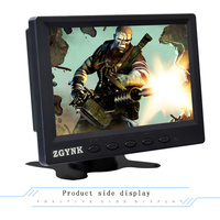 7 inch LED portable HD monitoring device HDMI computer LCD industrial mini display