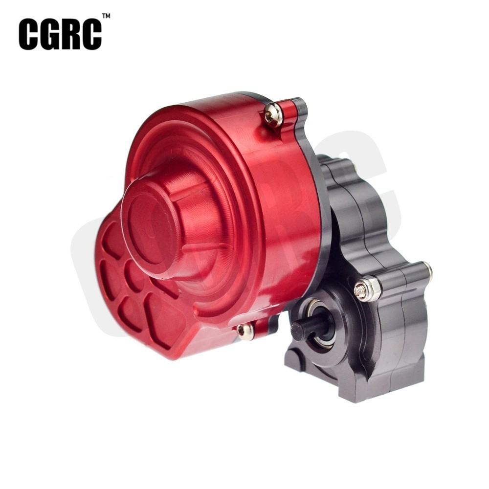 Complete Full Metal Gearbox SCX10 Gearbox Transmission Box Contain Gear For 1/10 Rc Crawler Car Axial SCX10 Upgrade PartsComplete Full Metal Gearbox SCX10 Gearbox Transmission Box Contain Gear For 1/10 Rc Crawler Car Axial SCX10 Upgrade Parts
