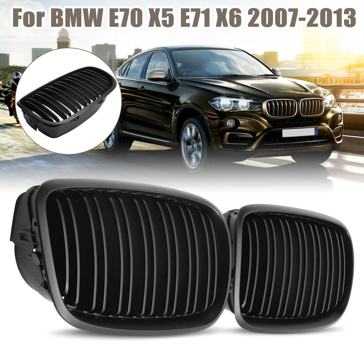 NEW BMW X5 M SERIES E70 2011-2013 REAR BUMPER TRIM DECOR COVER PAIR SET
