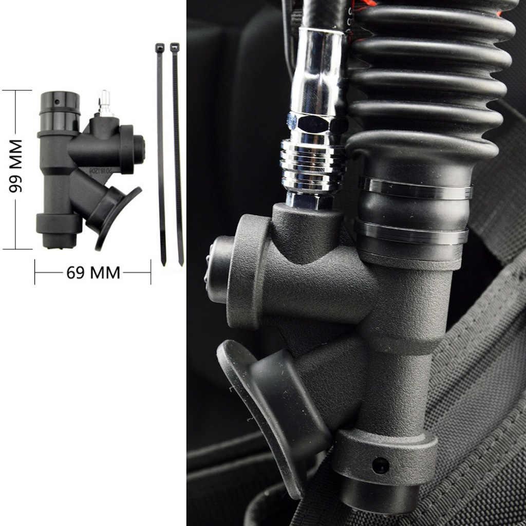 Tüplü dalış güç şişirme BCDs tüplü dalış için uygun tüm standart esnek hortum, hafif ve kompakt