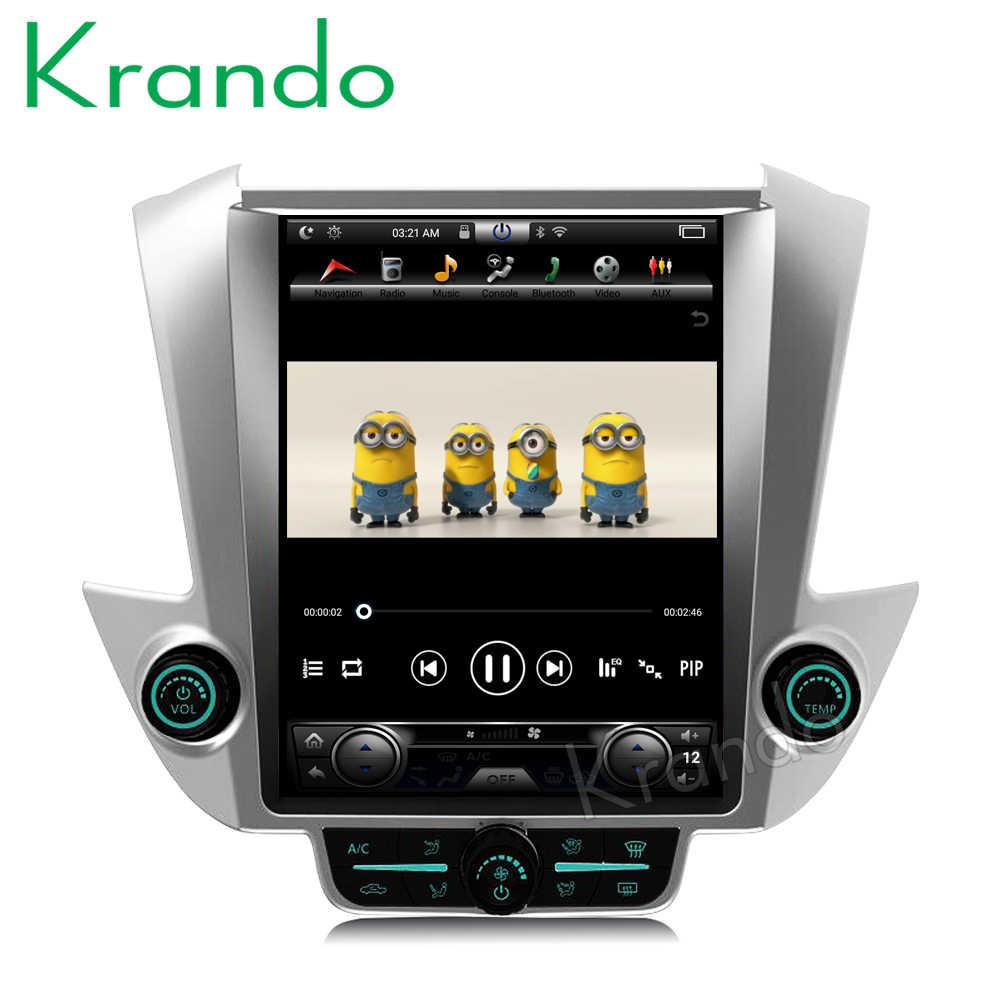 """Radio de coche Vertical kando Android 8,1 Tesla 12,1 """"para GMC Yukon/Chevrolet tahoad 2015 + navegación multimedia jugador"""