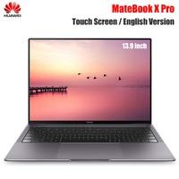 HUAWEI MateBook X Pro Notebook 13.9'' Intel Core i7 8850U 16GB 512GB NVIDIA Geforce MX150 Ultra Thin Touch Screen Laptops