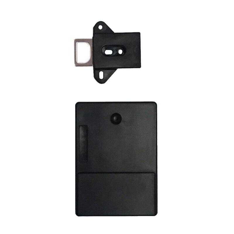 Black Invisible Rfid Free To Open Intelligent Induction Cabinet Lock Wardrobe Shoe Cabinet Shoe Drawer Door Lock Electronic Da
