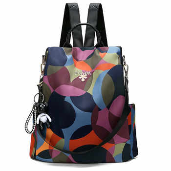 New Backpack Women Oxford Multifuction Bagpack Anti Theft Backpack For Teenager Girls Schoolbag 2019 Sac A Dos Mochila Feminina - DISCOUNT ITEM  40% OFF All Category