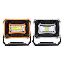 Лампе светодиодный портативный прожектор светодиодный рабочий свет Перезаряжаемый 18650 батарея Открытый свет для охоты кемпинг светодиодный латерн фонарик