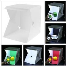 230*220*15mm Mini Foldable Light Room Box 20-LEDs Bright Sof
