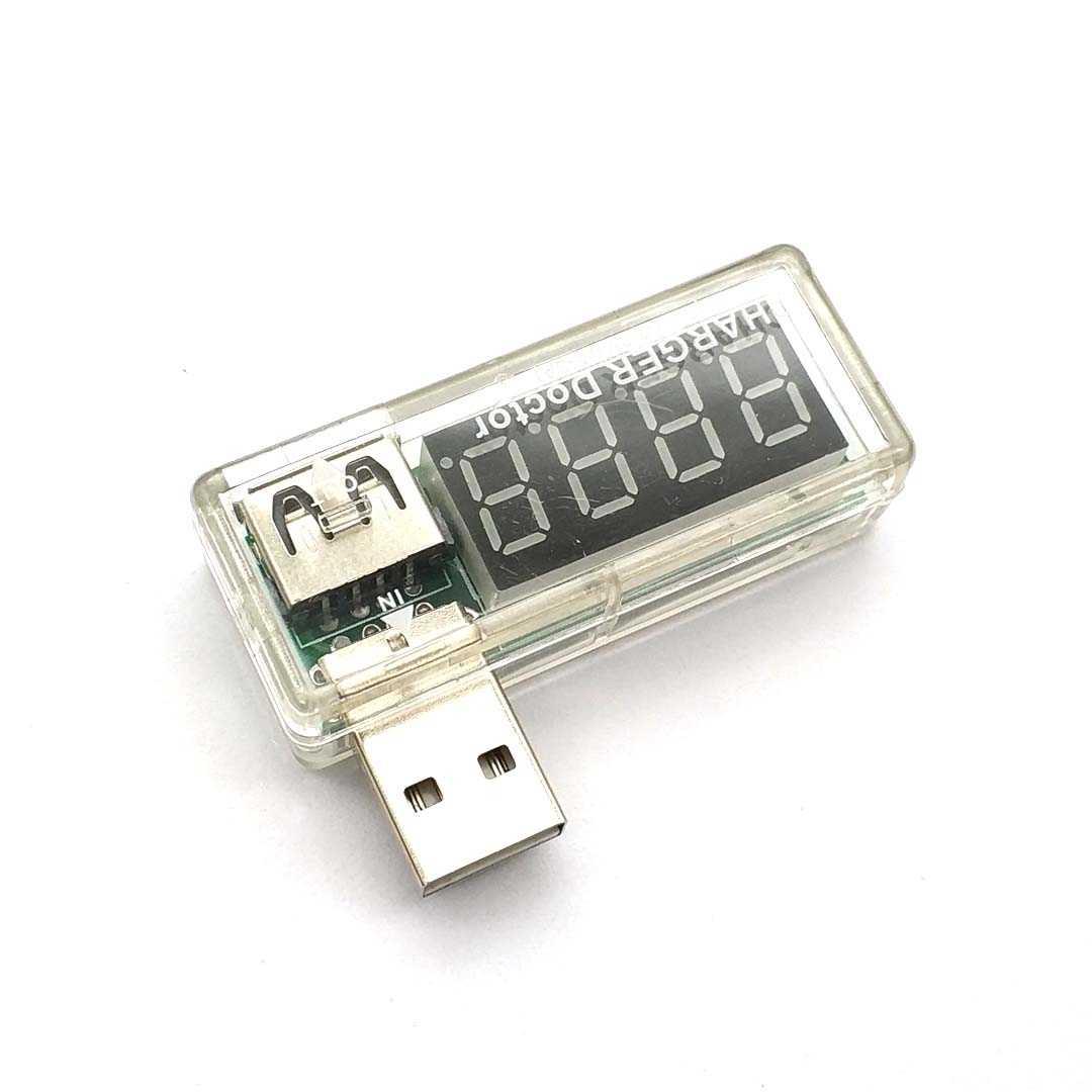 Testeur de tension de courant de charge Mobile USB numérique Mini chargeur USB voltmètre ampèremètre docteur
