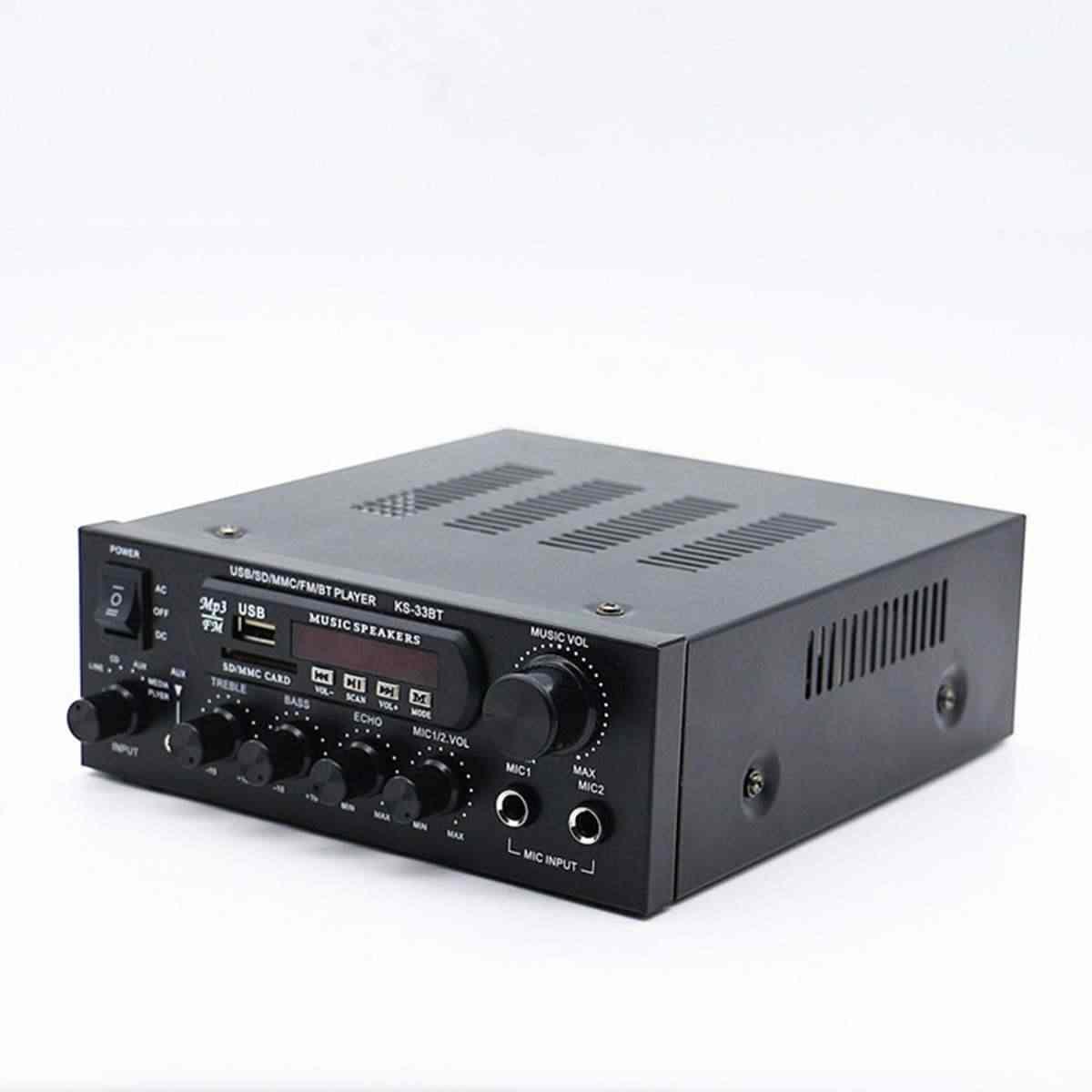 1000 Вт домашние Усилители звука Hifi бас аудио усилитель мощности для домашнего кинотеатра, усилитель для сабвуферных динамиков