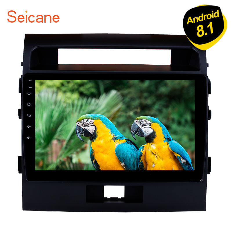 Seicane 10 1 Android 8 1 Car Multimedia Player For 2007 2008 2017 Toyota Cruiser FJ