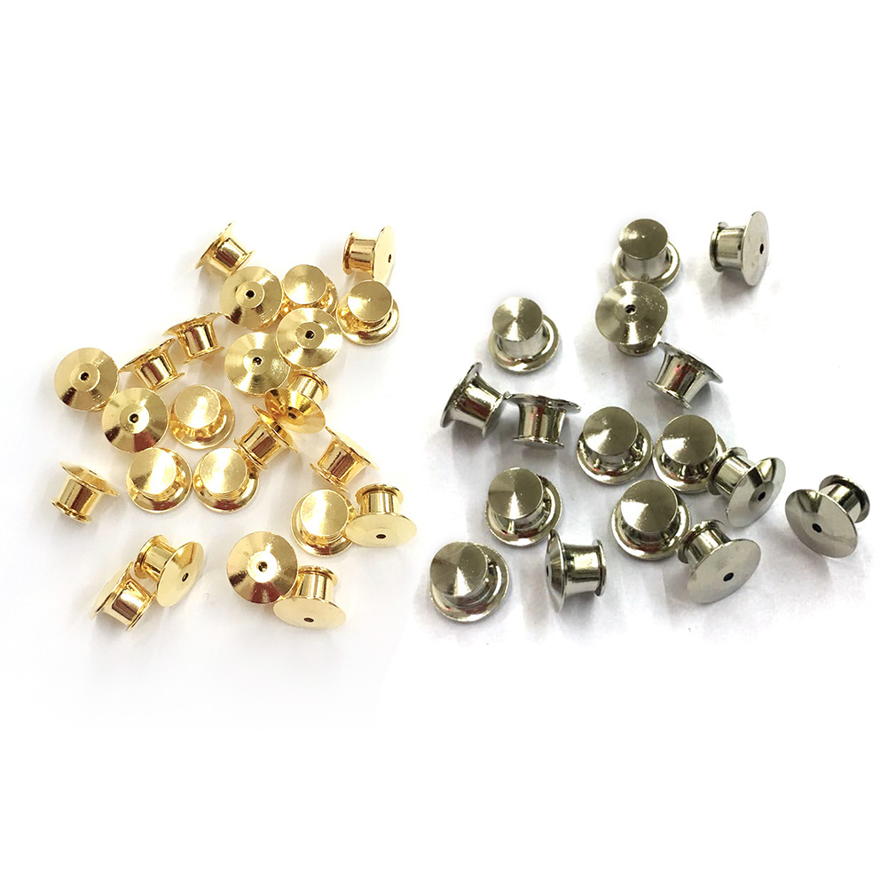 Beading & Jewelry Making Clutch Pin Backs 50 Count Gold