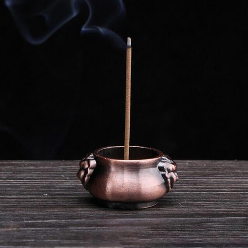 Отверстия чистая медная курильница с держателем плиты конусы Grden Декор декорации