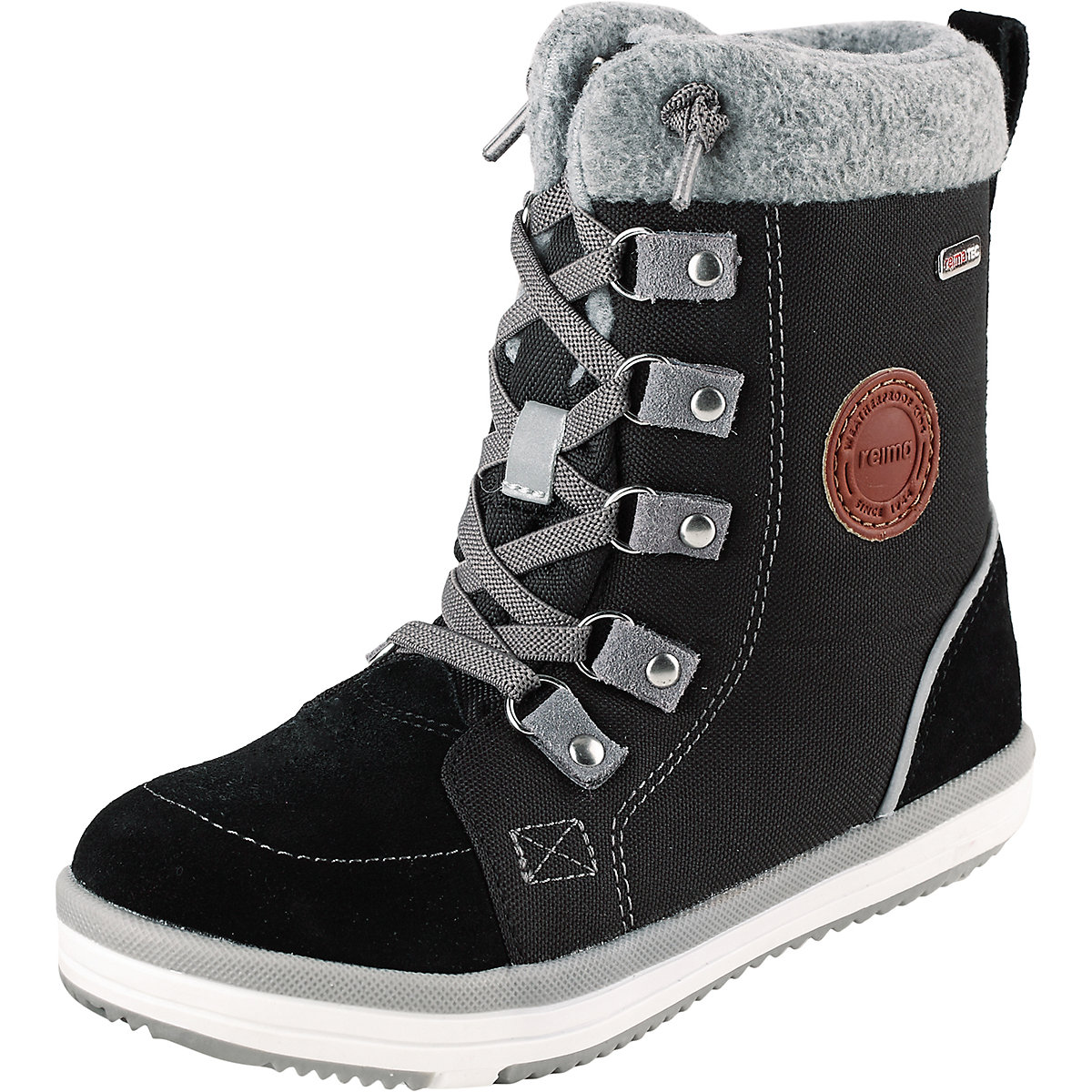 REIMA Boots 8624755 for boys winter boy baby shoes child snow boots male shoes plus velvet child girls big boy baby winter boots ankle boots 2016 winter