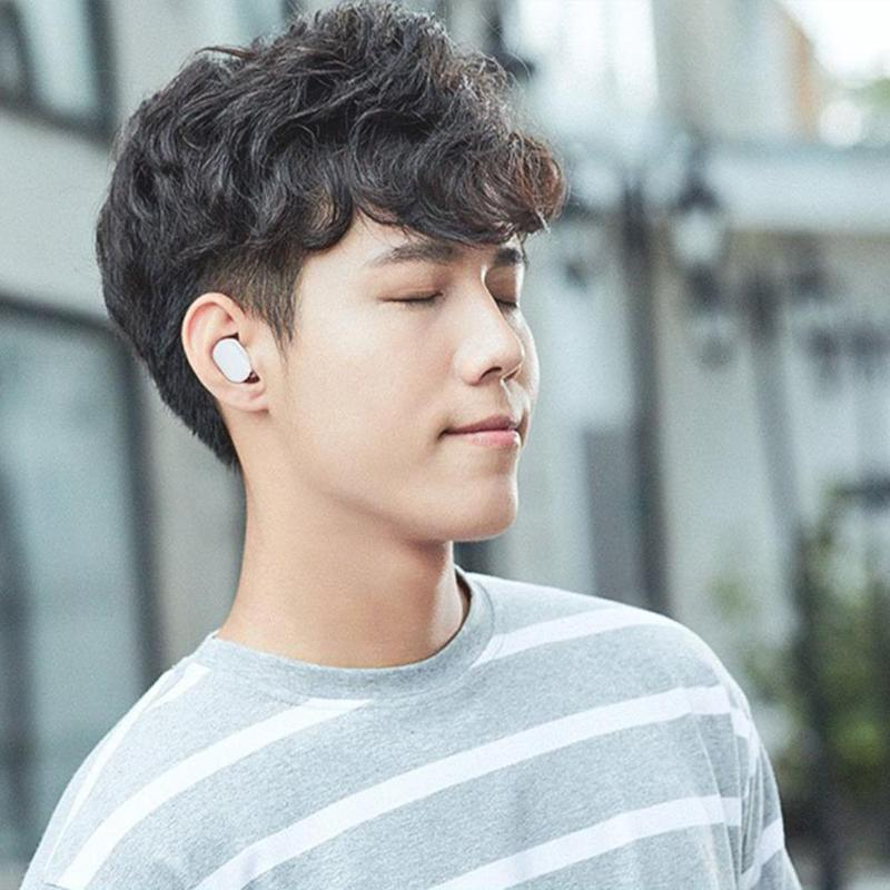 Image 2 - Xiaomi Mi AirDots TWS Stereo Wireless Headset Bluetooth Earphone Youth Version Mijia  Bass Headphone Headset With Mic Handsfree-in Bluetooth Earphones & Headphones from Consumer Electronics