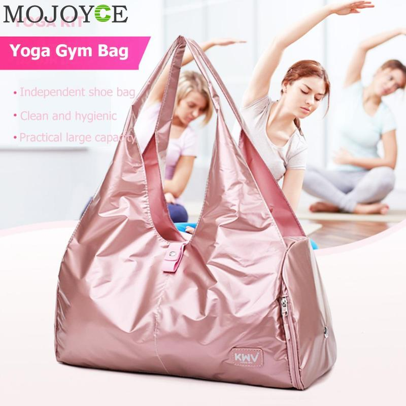 Sports Gym Fitness Dry Wet Separation Yoga Bag Waterproof Travel Handbags For Shoes Women the Shoulder Sac De Sport LuggageSports Gym Fitness Dry Wet Separation Yoga Bag Waterproof Travel Handbags For Shoes Women the Shoulder Sac De Sport Luggage