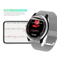 New N58 IP67 ECG PPG Smart Watch With Electrocardiograph ecg Display ECG HRV Report Heart Rate Blood Pressure Monitor Smartwatch
