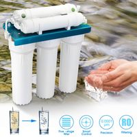 5 Stage Ultrafiltration Filter Water Purifier Home Kitchen Straight Drinking PP Cotton Coconut Shell Wall mounted ABS Shell