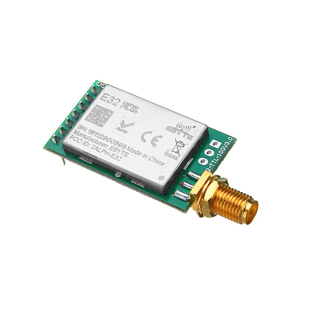 1 pc LoRa SX1278 433 MHz Drahtlose RF Modul IOT Transceiver CDSENET E32-433T20DT UART 3000 M 433 MHz Sender Empfänger