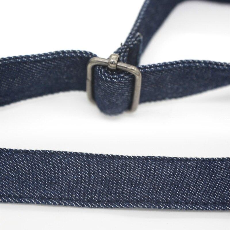 Women Fashion Denim Suspenders For Jeans Button End Tuxedo Y Back Suspenders Pant Braces for Men tirantes hombre para pantalones