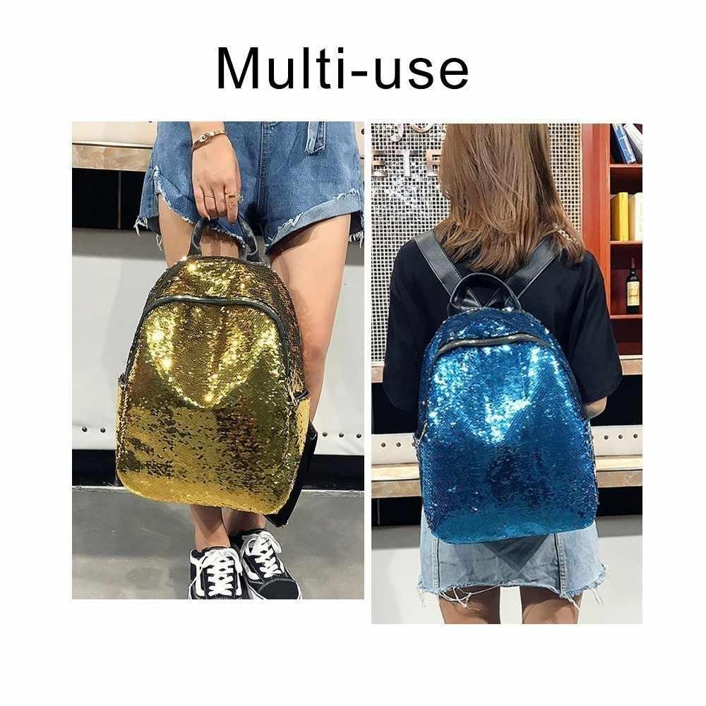 8b4ee0d4661a ... Herald Fashion Mini Backpack Women School Bag For Teenage Girls  Backpacks Female Travel Sequins Mochila Bolsa ...