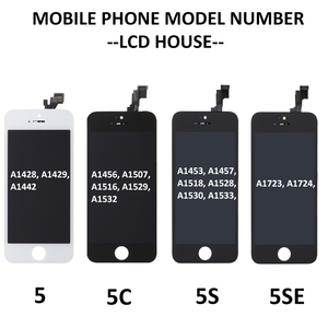 Image 5 - Complete Full Set LCD Screen For iPhone 5 5C 5S SE LCD Display Touch Digitizer Assembly Replacement Home Button+Front Camera