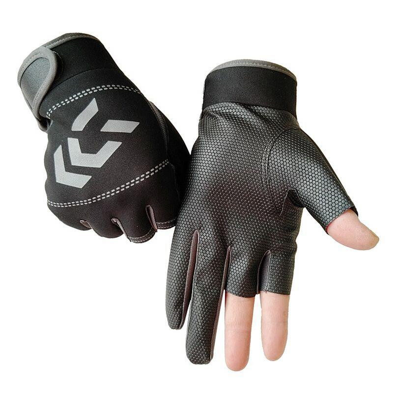 Image 5 - Outdoor Breathable Fishing Gloves Non Slip Protection Against Stab Wounds 3 Fingers High Quality Fishing Sport Waterproof Gloves-in Fishing Gloves from Sports & Entertainment