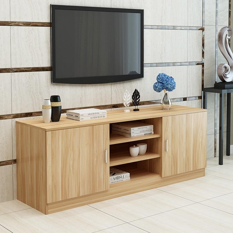 Ecran Plat China Lcd Meuble Moderne Mesa Modern Para Shabby Chic Wooden Monitor Table Mueble Living Room Furniture Tv Stand in TV Stands from Furniture