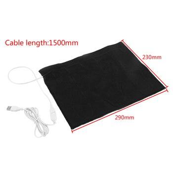 החדש 1pc 5V USB חימום Pad עבור חיות מחמד כלב חתול חשמלי חורף חם שטיח עבור חיות מחמד עמיד למים דוד מחצלת שטיח חום כרית