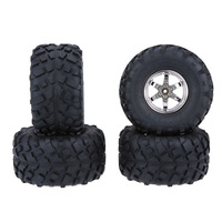 4Pcs/Set 1/10 Monster Truck Tire Tyres for Traxxas HSP Tamiya HPI Kyosho RC Off Road Model Car