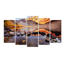 Nordic Style Canvas Art Print Watercolor Paintings Posters and Prints Autumn Leaves Wall Pictures for Home Decoration Wall Decor