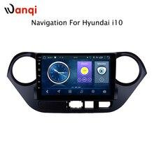 2G ram 32G rom 9 дюймов android 8,1 gps навигация для hyundai i10 2013-2016 Авто Радио стерео Мультимедиа Плеер