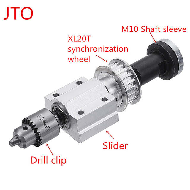 Unpowered Spindle Assembly Woodworking Cutting Grinding Spindle