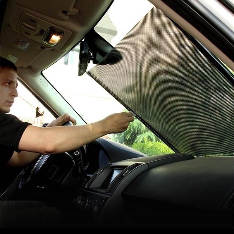 Sombrilla ombre fenêtre Coche bâches de voiture Guarda Sol Telo Copri Auto Automobiles Parasol Automovil bâche de voiture pare-brise pare-soleil