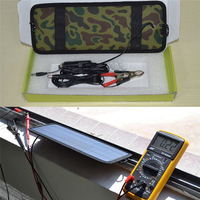 4.5W Solar Charger Solar Panel Solar Panel Car Battery Charger Trickle Charge For Automobile, Camping Car, Marine