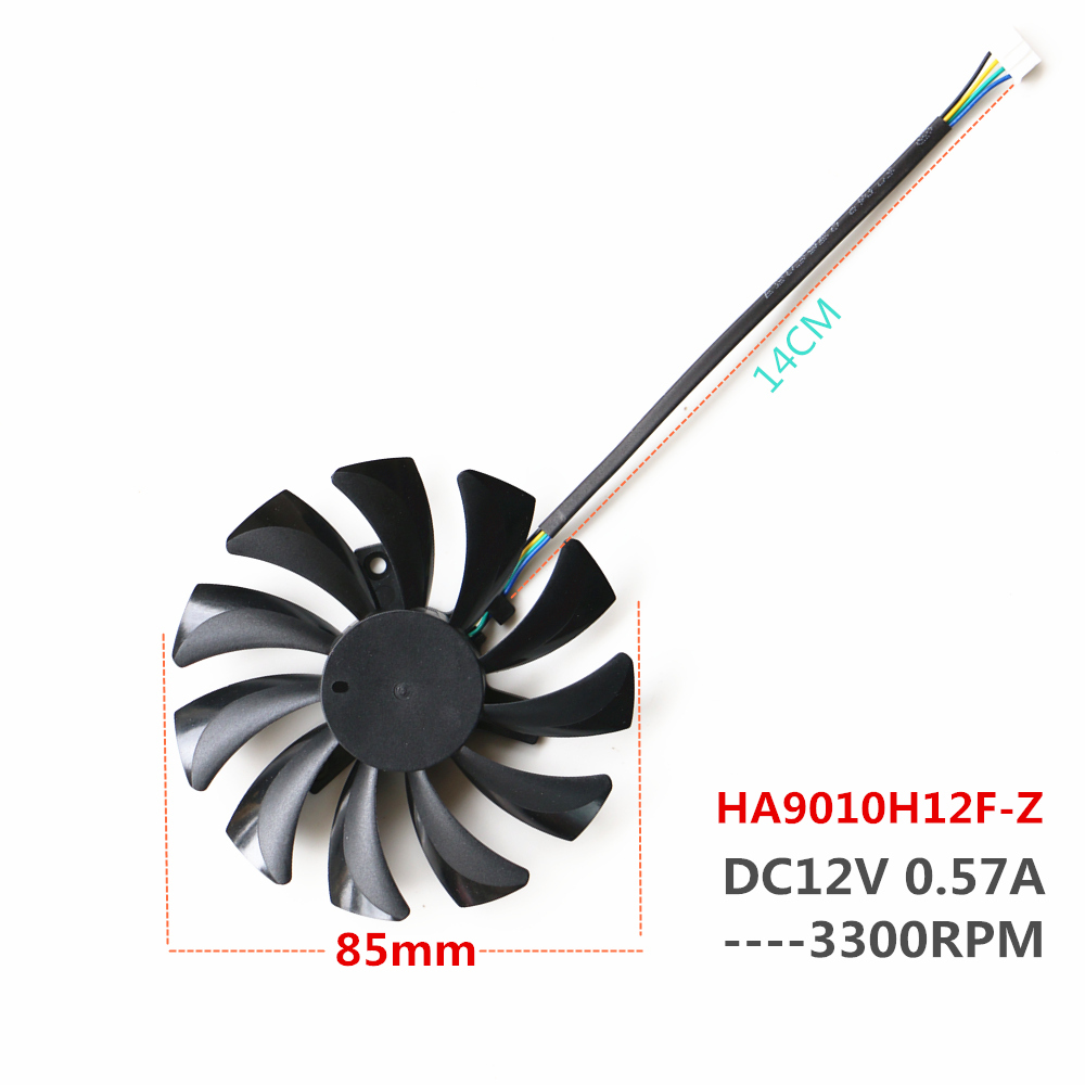 New HA9010H12F-Z Fan For GTX1060 VGA Gpu Cooling Fan image