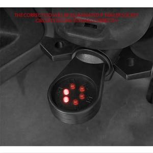 Image 5 - 7 웨이 RV 블레이드 배선 회로 테스터 트레일러 히치 LED 커넥터 플러그 핀 라운드