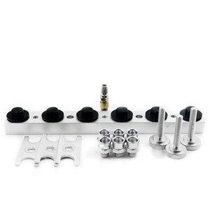 Image 3 - Adaptador para inyectores de alimentación lateral, máquina de limpieza de inyectores de combustible de coche CNC602A
