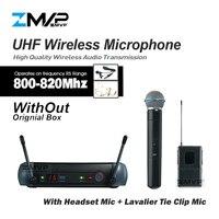 Zmvp PGX24 PGX14 UHF Беспроводной микрофон Системы с PGX поясной ручной передатчик Bluetooth гарнитура нагрудная гарнитура без Оригинальная коробка