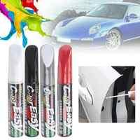 Lakier samochodowy usuwanie zadrapań cienki pędzelek farba wodoodporna marker bieżnik opony samochodowej pielęgnacja motoryzacja utrzymuj czarny biały czerwony srebrny