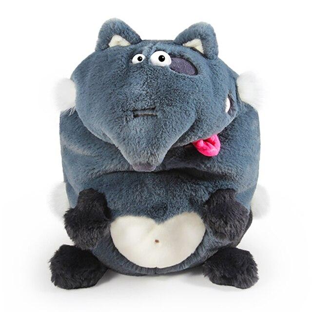 Мягкая игрушка Budi Basa Karmashki Волк, 21 см
