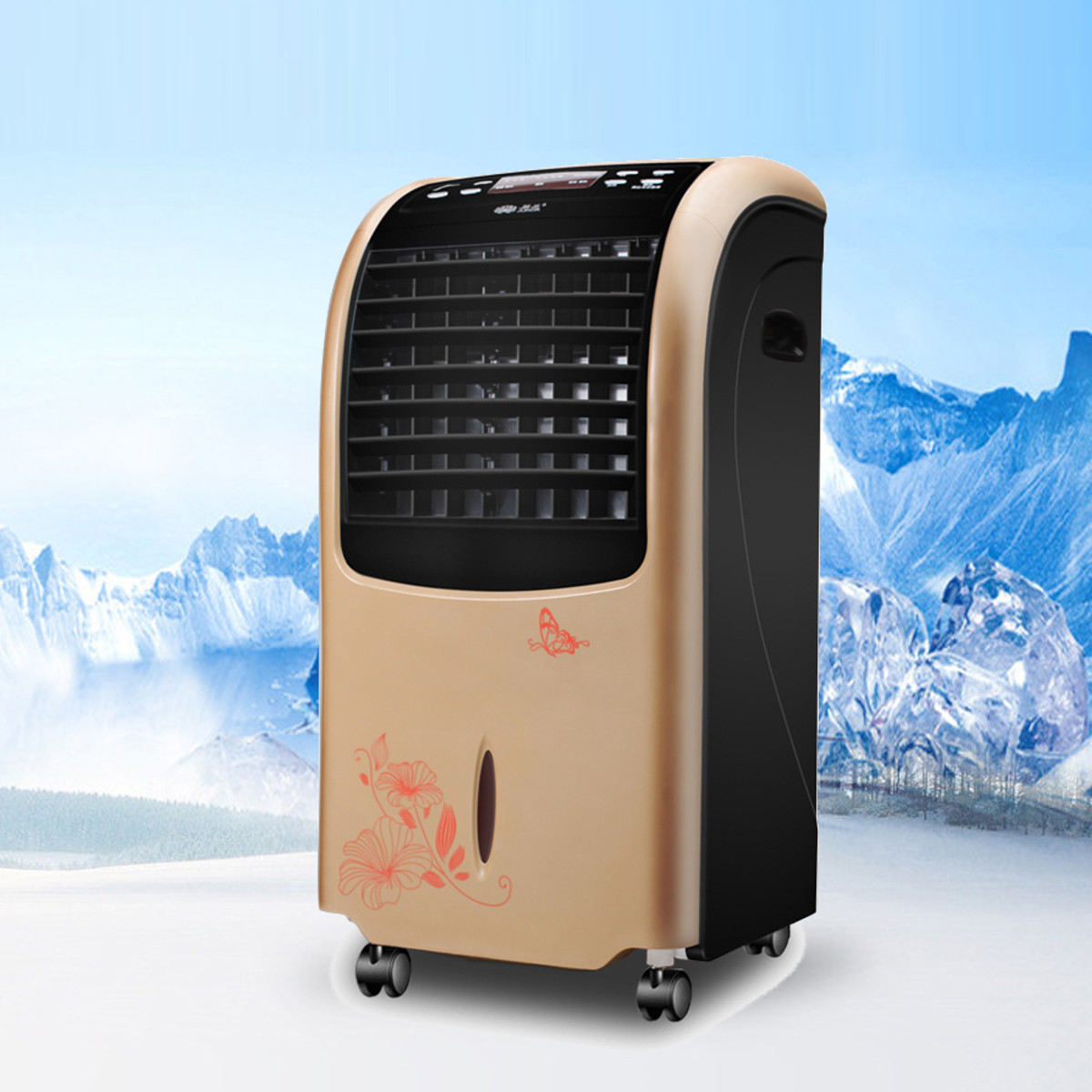 220V 80W Evaporative Portable Air Conditioner Cooler Fan Cooling Remote Conditioner Energysaving Purifier Personal220V 80W Evaporative Portable Air Conditioner Cooler Fan Cooling Remote Conditioner Energysaving Purifier Personal